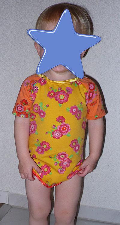 Body für Babies - mit Raglanärmeln