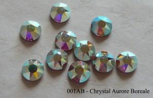 Swarovski Elements - Flat Back Hotfix Strasssteine von Swarovski - Crystal Aurore Boreale