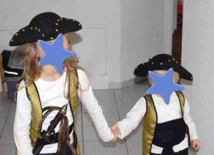 Piratenhut für Piratenkostüm