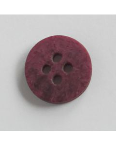 Blusenknopf in Aubergine - 13mm