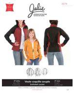 Softshell Jacke Schnittmuster für Mädchen und Damen