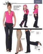 Stretch Jeans für Damen und Mädchen (Schnittmuster)