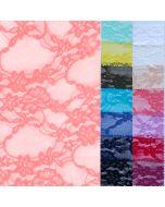 Bielastische Mesh-Spitze 'Alexandra' in 8 Farben