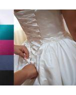 Edler Satinstoff für Brautkleider