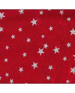 Lycra mit Sternchen, rot