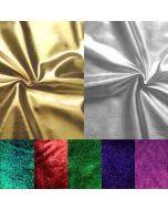 Metallic Lycra Stoff in div. Farben