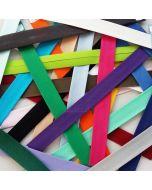 Uni Schrägband - Einfassband - 20mm breit in 26 Farben