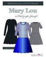 Schnittmuster für ein Kleid 'Mary Lou' von Fadenkäfer