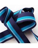 Budgetpackung Gummiband, blau, 3cm breit, 5m