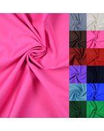 Mittelschwerer uni Baumwoll-Köper Stoff in 16 Farben