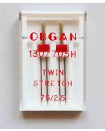 Stretch Zwillingsnadeln - 2,5 mm breit
