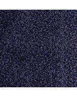 Weicher Musselin - Double Gazue Stoff in dunkelblau mit feinen Pflanzenmotiven für Damenbekleidung, Schals, Kleider