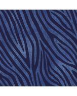 Jersey Stoff mit Zebramuster in denim - jeansblau
