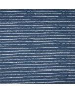 Gestreifter Jersey Stoff in jeansblau mit Streifen in off-white - der Stoff ist für Kinder-, Damen- und Männerklamotten geeignet. - Stoffzusammensetzung: 95% Baumwolle 5% Elastan