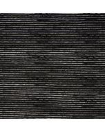 Gestreifter Jersey Stoff in schwarz mit Streifen in off-white - der Stoff ist für Kinder-, Damen- und Männerklamotten geeignet. - Stoffzusammensetzung: 95% Baumwolle 5% Elastan