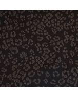Reflektierender Softshell Stoff mit Leopardenmuster - der Stoff ist Wasserabweisend und winddicht, im Dunkeln reflektiert er das Licht. - 150cm breite Meterware.