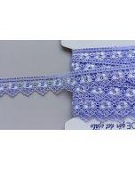 Guipure-Spitzenband, 30 mm breit, hellviolett (col. 8)