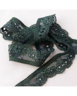 Elastische Spitze, giftgrün, 2.5cm breit