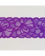 Elastische Spitze, violett, 8.5cm breit