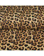 Jersey Stoff mit Leopardenmuster