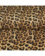 Baumwollstoff mit Leopardenmuster