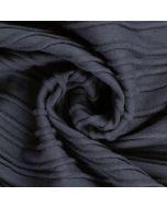 Jersey Stoff mit Wellenmuster in dunkelblau und grüntürkis für Jerseykleider, T-Shirts, Tops, Leggings.