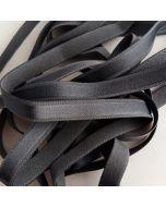 Trägergummi/Trägerband, grau, 12mm breit, 4m