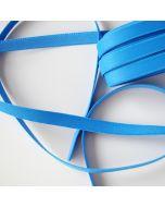 Weiches, 10mm breites BH-Trägergummiband für BHs und Tops in königblau matt.