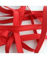 Trägergummi, Trägerband, rot, 12mm breit, 4m