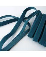 Weiches Trägergummiband für BHs und Kleider in petrol - 12mm breit