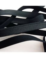 BH-Trägergummi in schwarz - 10mm breit, 4m
