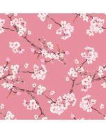 Tencel - Modal Jersey Stoff mit Kirschblüten-Motiven in altrosa für Damenbekleidung: für sommerliche Tunikas, Blusen, Kleider oder Leggings.