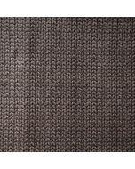 Flauschig warmer Sweat Stoff in grau mit Strickmuster - der Stoff ist perfekt für Jacken, Hoodies, Pullover oder Wohlfühlhosen.