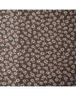 Weicher Jersey Stoff in grau mit feinen Gänseblümchen-Muster für lässige Damen- und Kinderbekleidung oder Unterwäsche. Der Stoff ist GOTS-Zertifiziert.