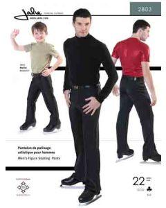 Stretch Hose / Schlittschuhhose für Männer - Schnittmuster