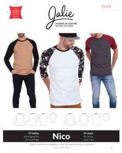 Raglan T-Shirts für Männer und Buben