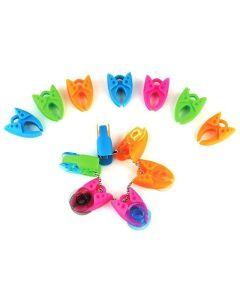 BabySnap Spulenklammern Für Nähgarne - die Spulenklammern umklammern die Garnspulen und verhindern das Abwickeln des Garns.