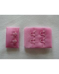 BH-Verschluss in rosa - 3cm breit