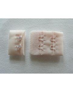 BH-Verschluss, 3 cm breit, hellrosa