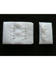BH-Verschluss, 3 cm breit, weiss