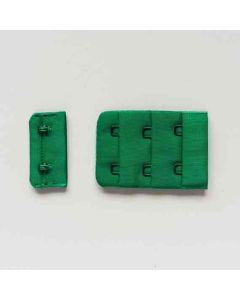 BH-Verschluss, waldgrün, 4 cm breit