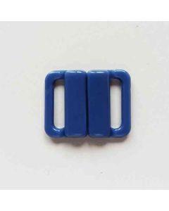 Bikiniverschluss, heidelbeerblau; Durchlass: 13mm