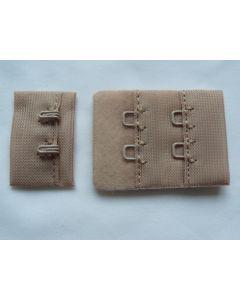 BH-Verschluss, 3 cm breit, sand