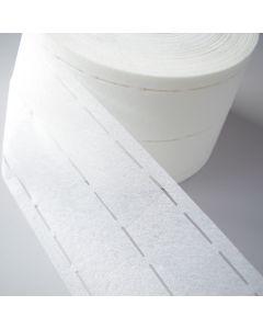 Aufbügelbares Vliesband mit Perforation für Hosen- und Rockbund