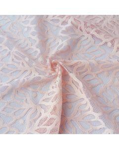 Elastische Spitze in rosa