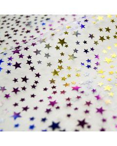 Organza mit Sternchen