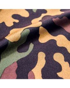 Lycra - Badelycra Stoff 'Camouflage' mit Tarnanzug-Muster