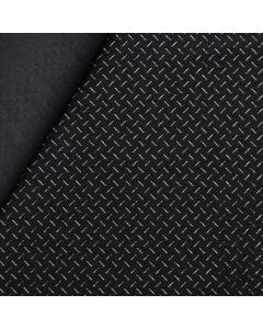 Antirutsch Lycra Stoff 'Grip' in schwarz mit Silikon-Noppen, die das Verrutschen verhindern.