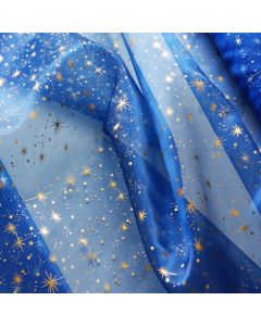 Organza 'Star' mit Sternchen