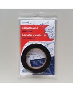 Antex Nahtband, schwarz, 10mm breit, 12.5m